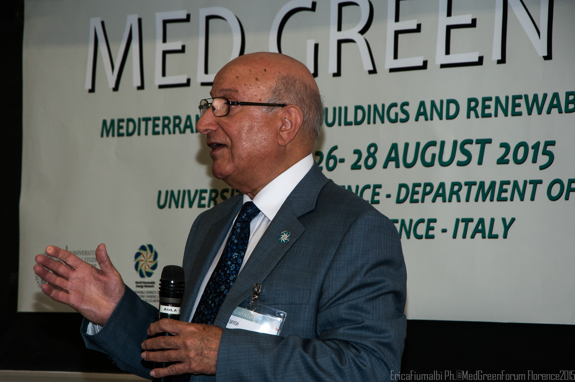 Prof. Ali Sayigh Chairman of Med Green Forum UK